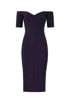 Navy Birch Dress by Cinq à Sept