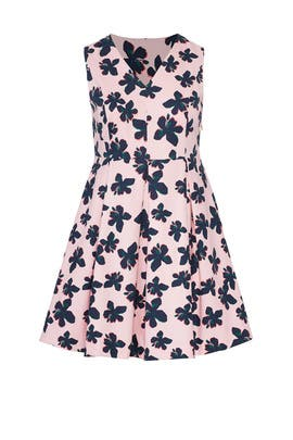 Hibiscus Fit and Flare Dress by Draper James X ELOQUII