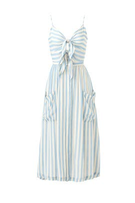 Striped Derinda Dress by Rebecca Minkoff