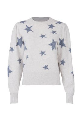 Star Intarsia Sweater by Rebecca Taylor