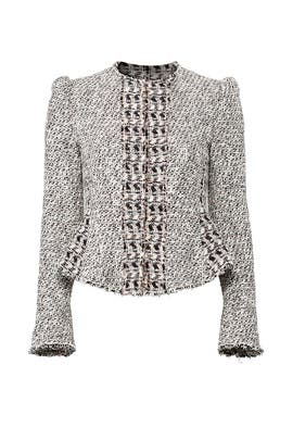 Grey Mix Tweed Jacket by Rebecca Taylor