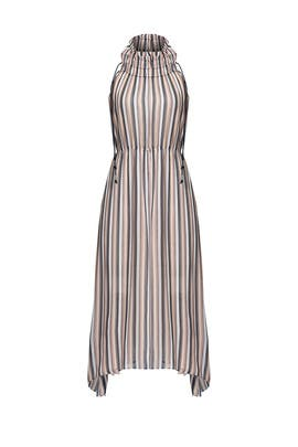 Striped Handkerchief Dress by 10 CROSBY DEREK LAM