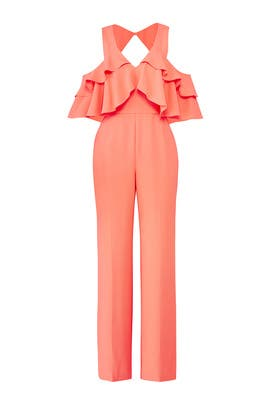 Coral Josephine Jumpsuit by Trina Turk