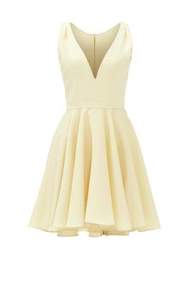Yellow Marilyn Dress by allison parris