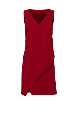 Red Jenn Dress by Diane von Furstenberg