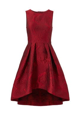 Red Coraline Dress by Shoshanna