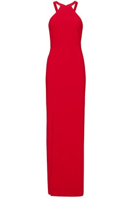 Red Stillwell Gown by LIKELY