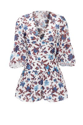 Autumn Flower Romper by Thakoon