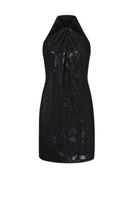 Iris Sequin Dress by Carmen Marc Valvo