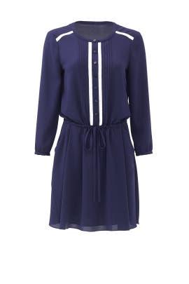 Navy Hadley Dress by ERIN erin fetherston