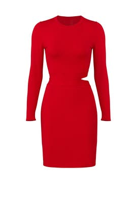 Red Railey Dress by Elizabeth and James