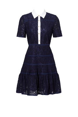 Meadow Navy Lace Dress by Draper James
