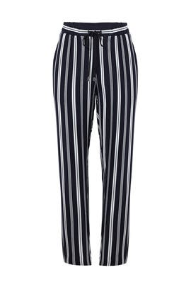 Navy Striped Serena Pants by Waverly Grey