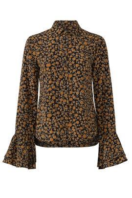 Ditsy Floral Shirt by Derek Lam 10 Crosby