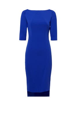 Electric Cobalt Zaha Dress by INTER-PRET.US