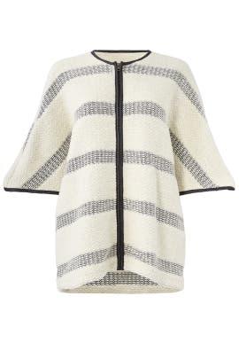 Ivory Striped Jacket by Waverly Grey