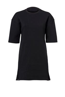 Black Tech Fleece Dress by Nike