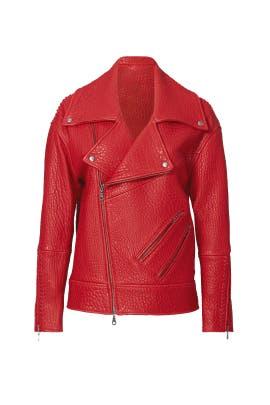 Red Brutus Jacket by Rebecca Minkoff