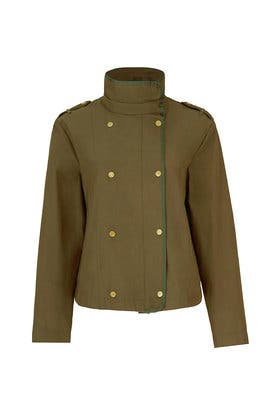 Cropped Green Jacket by Scotch & Soda