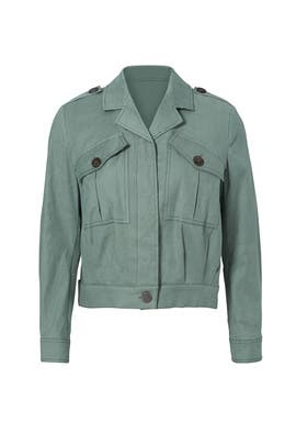 Green Utility Jacket by Derek Lam 10 Crosby