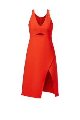 Grenadine Red Dress by Halston Heritage