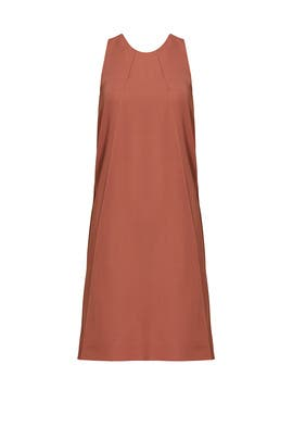 Dusty Rose Shift Dress by Nina Ricci