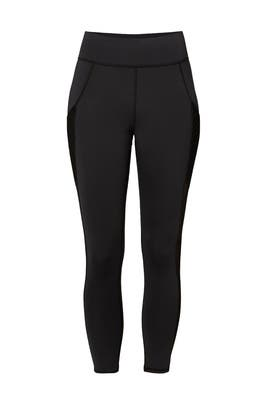 Black Stardust Crop Legging by MICHI