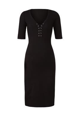 Lace Up Maternity Dress by MONROW
