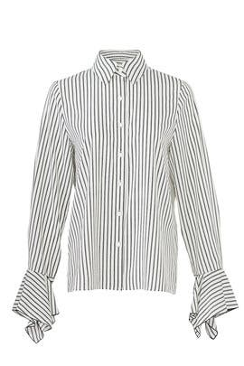 Striped Blouse by BLAQUE LABEL