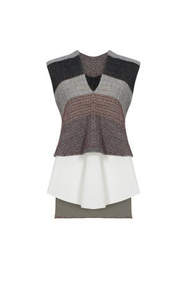 Embroidery Tiered Top by Derek Lam 10 Crosby