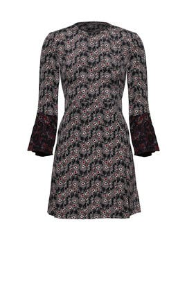 Foulard Floral Print Dress by 10 CROSBY DEREK LAM