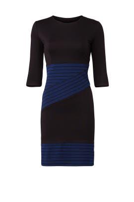 Crossbody Stripe Dress by Hutch
