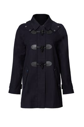 Navy Toggle Coat by Joie