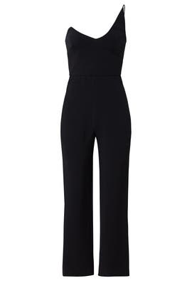 Black Tailored Jumpsuit by Cushnie Et Ochs