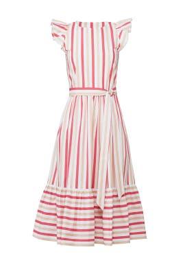 Peach Sherbert Midi Dress by kate spade new york