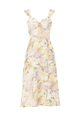 Floral Ariana Dress by Yumi Kim