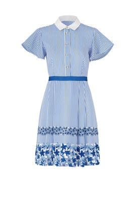 Striped Willowick Dress by Draper James