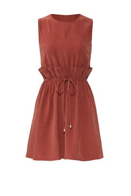 Ruffle Tie Waist Dress by J.O.A.