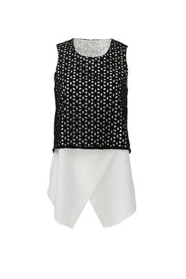 Seeing Eye Top by 10 CROSBY DEREK LAM