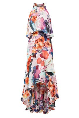 Floral Pamela High Low Maxi by Parker