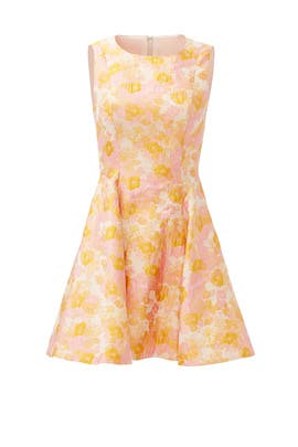 Orange in Bloom Dress by Cynthia Rowley
