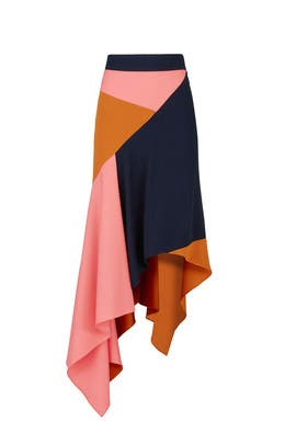 Asymmetric Cady Skirt by Peter Pilotto