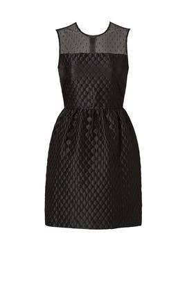 Black Point D'Esprit Top Dress by RED Valentino