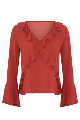 Nugget Ruffled Top by Bailey 44