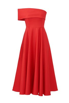 Red Lasse Dress by Jay Godfrey