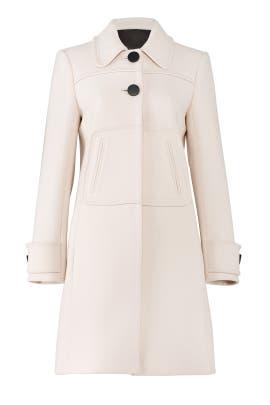 Natural Wide Cuff Coat by Tara Jarmon