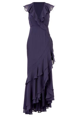 Navy Be About You Gown by C/MEO COLLECTIVE