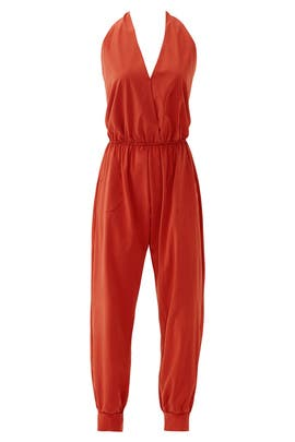 Terracotta Grayson Jumpsuit by Karen Zambos