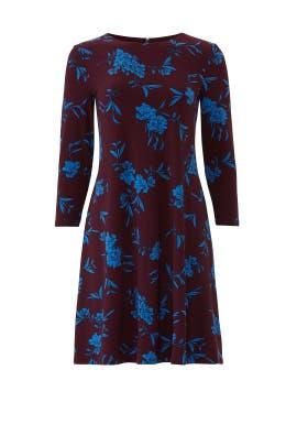 Plum Abbi Dress by Lauren Ralph Lauren