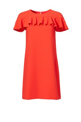 Orange Splash Dress by Trina Turk